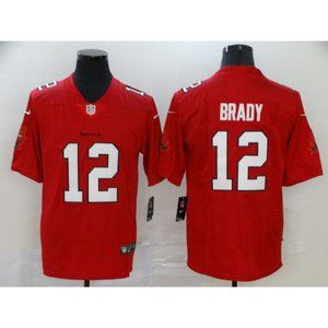 YouthTampa Bay Buccaneers Tom Brady Red Jersey
